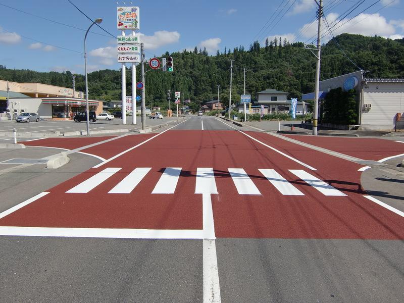 交差点周辺への適用