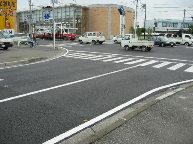 交差点部への適用