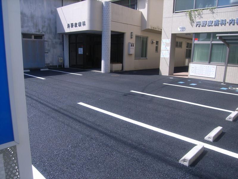 駐車場での適用