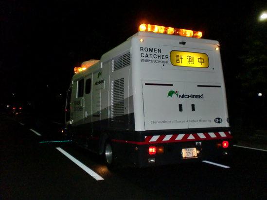 LY調査(路面性状調査)